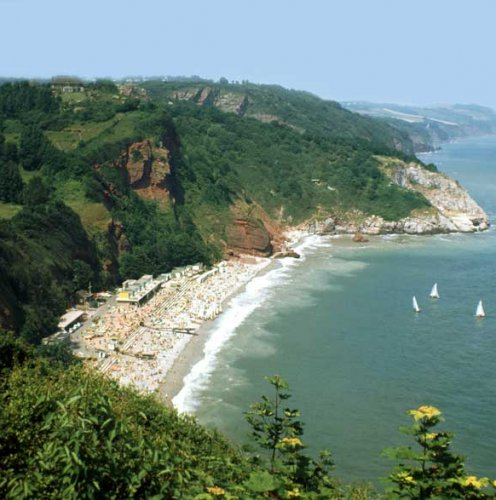 Прекрасні пляжі Oddicombe